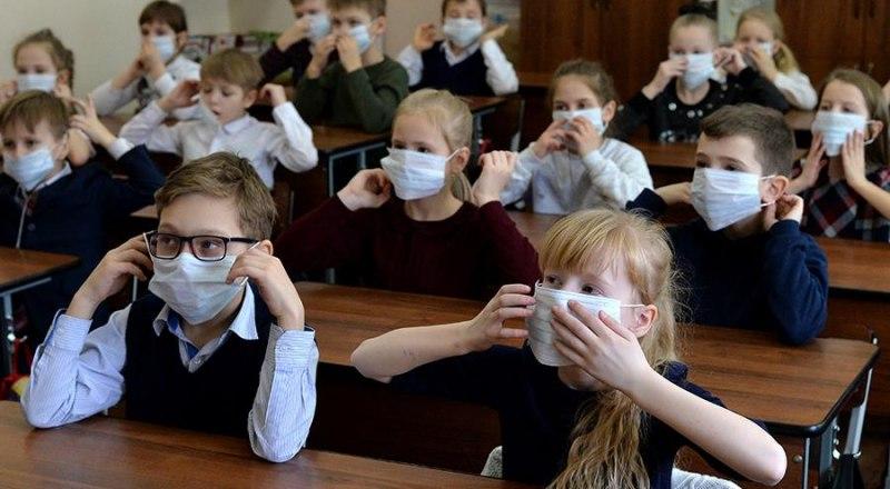 Одна школа Крыма полностью закрыта на карантин. Фото Александра Кондратюка.