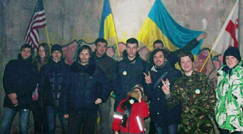 «Пятая колонна». Фотография со страницы 18-летнего жителя Владивостока в соцсети.