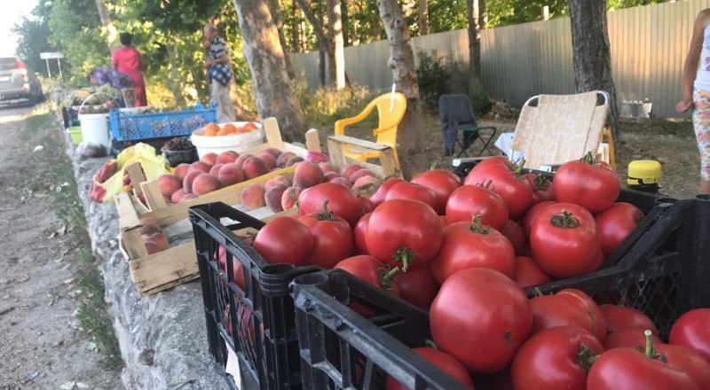 Выращенные на своих огородах овощи - единственный для многих источник дохода.