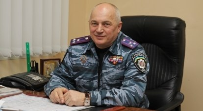 Командир крымского БМОН «Беркут» Юрий Абисов.