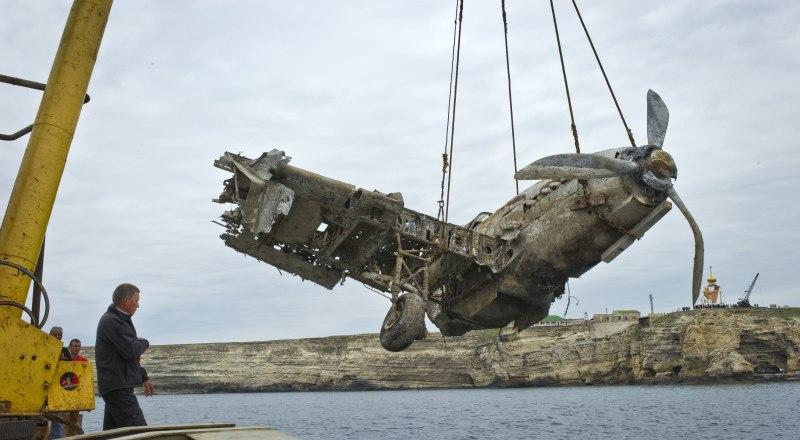 Подводный музей военной техники, куда в 2015 году был погружён Ил-2, планировали создать в Оленевке. Учёные уверены: в будущем подводный музей в Крыму всё же откроют. Фото с сайта rk.gov.ru