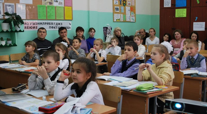 Дети должны учиться в красивых классах, но собирать на это деньги запрещено.