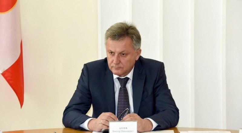 Виктор Агеев. Фото пресс-службы председателя горсовета.