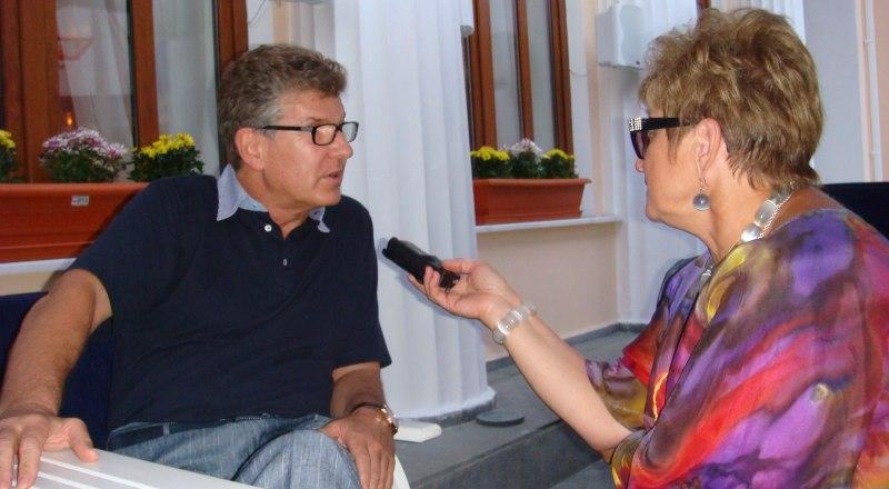 Интервью «Крымской правде» даёт Игорь Костолевский (2009 год).
