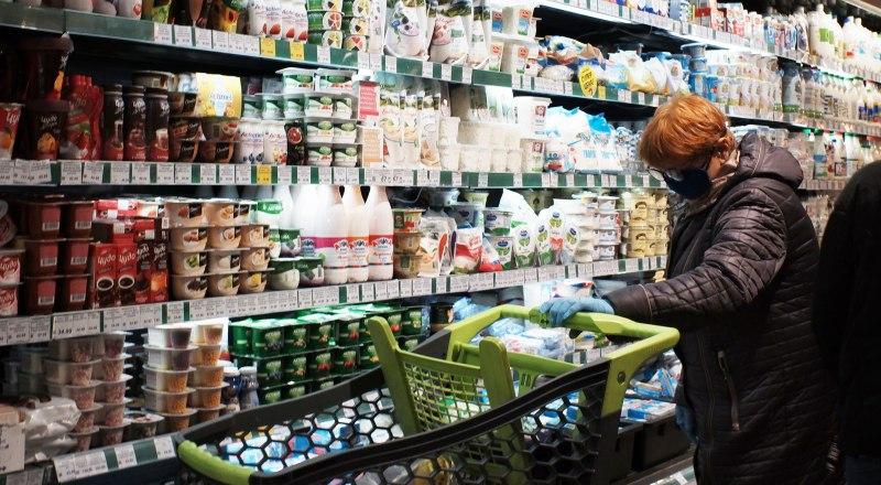 Дефицита продуктов нет, но цены растут неумолимо.