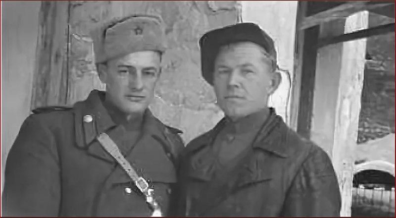 Андрей Андреевич Сермуль (слева) и Николай Иванович Дементьев.
