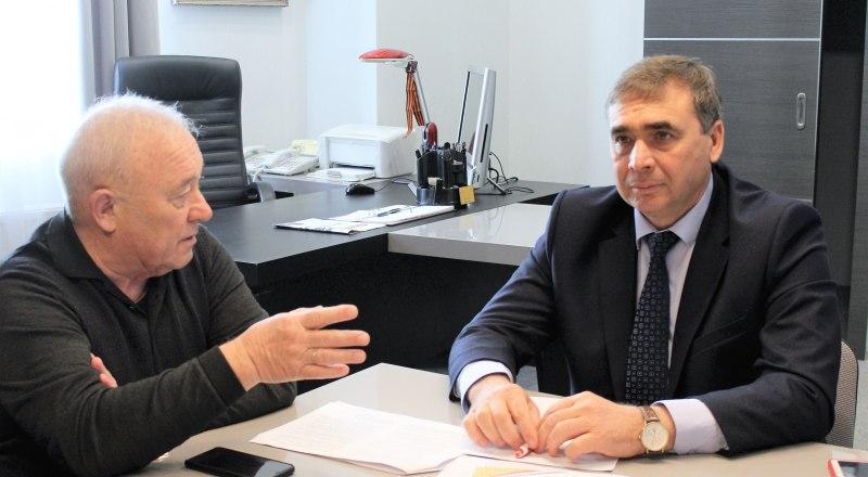 Андрей Рюмшин ответил на вопросы главного редактора и корреспондентов газеты.