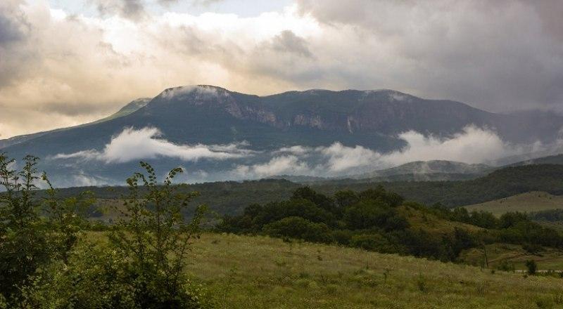 Эту гору часто называют пятиглавой.