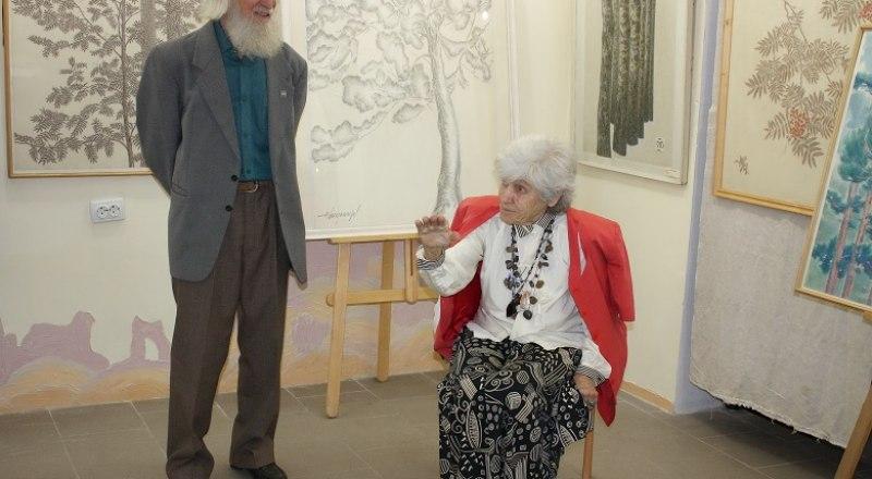 Евгений и Жанна Владимировы на открытии выставки. Фото Марины Федоренко.