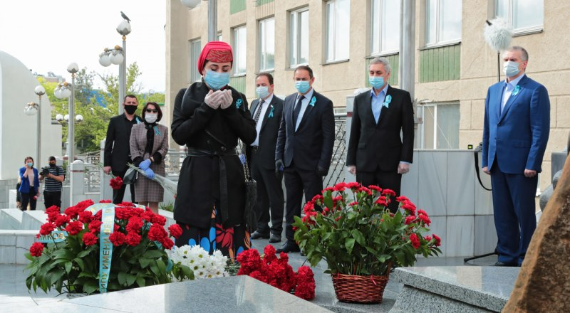 Траурные мероприятия 18 мая в Симферополе.