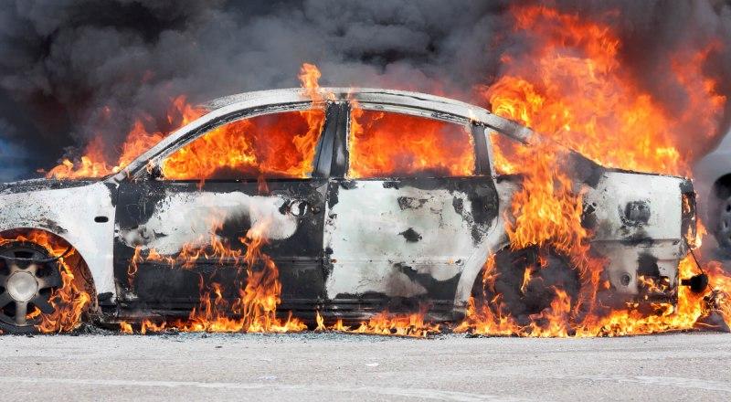 Поджог автомобиля - уголовно наказуемое «развлечение».