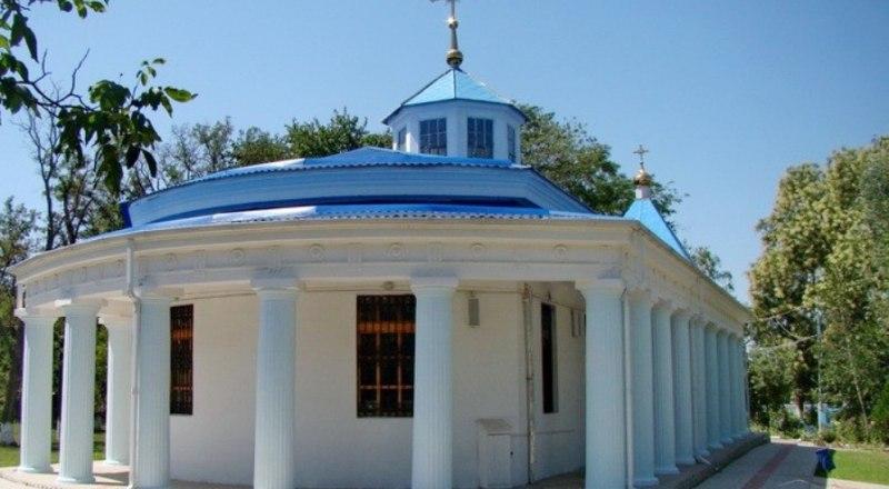 Храм Пресвятой Богородицы в Тамани.
