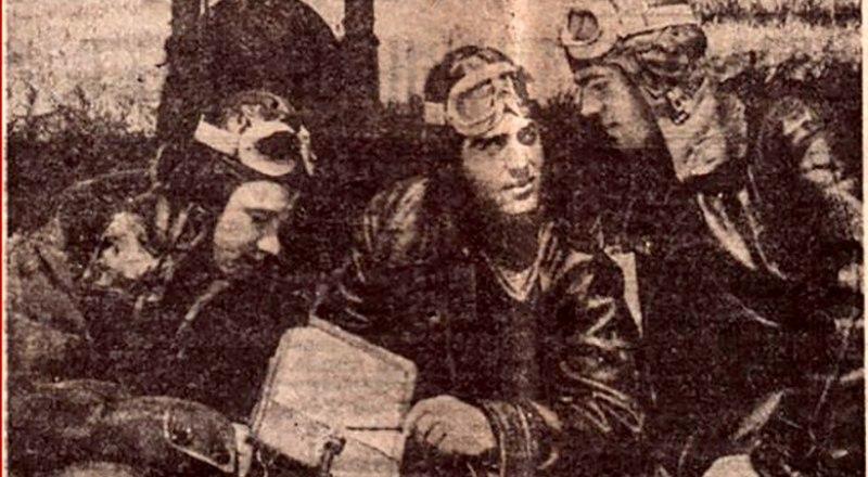Иван Кузнецов, Израиль Левинсон, Василий Юр (слева направо).