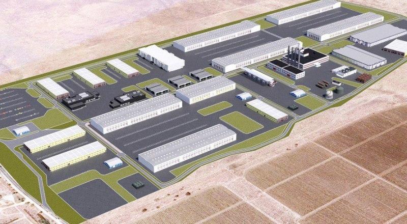 Так, если верить проекту, будет выглядеть индустриальный парк в Феодосии.