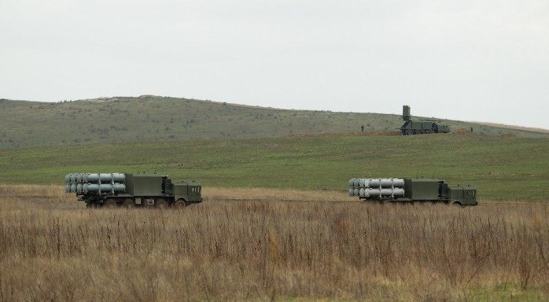 БПКРК «Бал» Черноморского флота выдвигаются на заданные позиции.