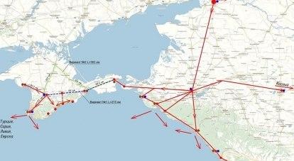 Сейчас поездам, курсирующим между Симферополем и Керчью, приходится делать крюк в 87 километров.