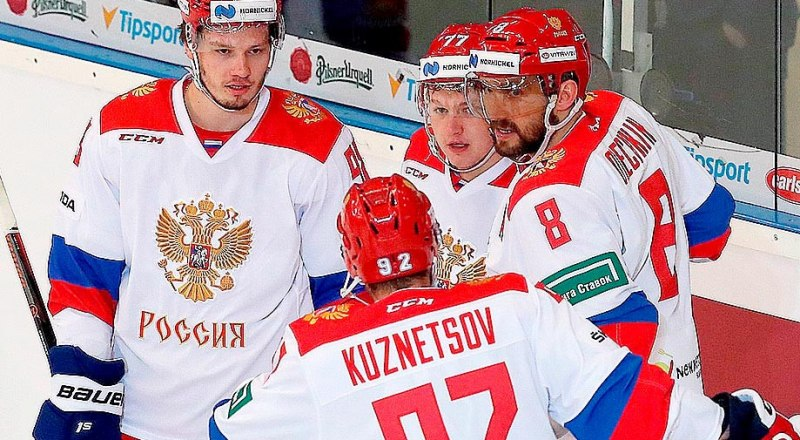 С мыслью о чемпионстве приехали в Словакию все хоккеисты сборной России.