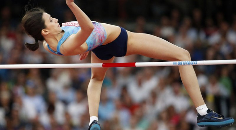 Главная надежда нашей сборной на чемпионский титул в Катаре, прыгунья в высоту Мария Ласицкене.