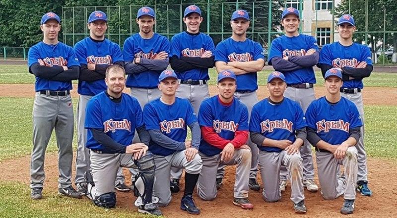 Обладатель Кубка России по бейсболу-2019 сборная команда Республики Крым.