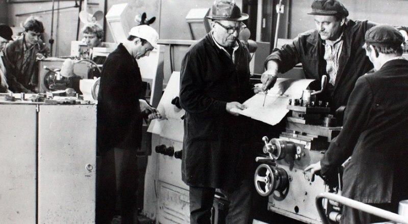 В советское время на заводе «Продмаш» трудились более 3 тыс. квалифицированных рабочих. Фото из открытых источников.