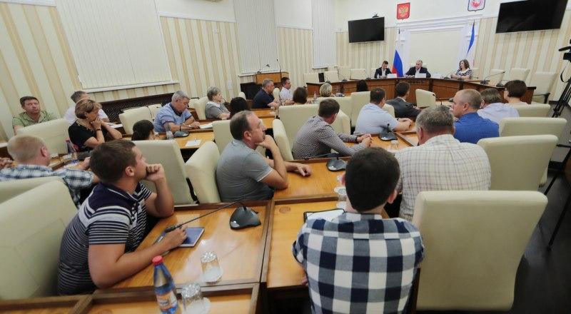 Встреча с коллективом ГУП «Крымавтотранс».