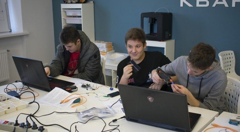 Так проходят занятия в крымском «Кванториуме» в Евпатории.