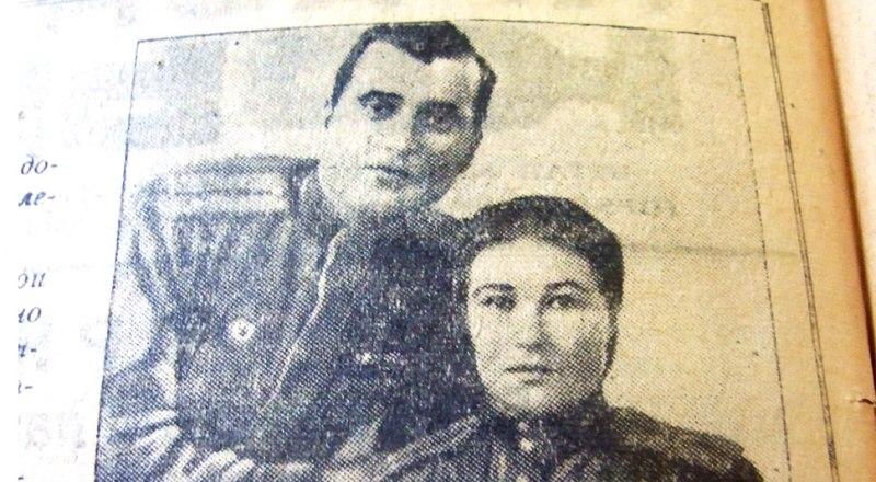 Иван и Александра Бойко в «Красном Крыму». Фото автора и с сайта warheroes.ru