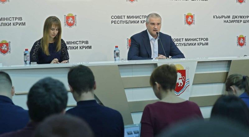 Сергей Аксёнов заявил, что ищет добросовестных сотрудников, а себя, к сожалению, клонировать не может.