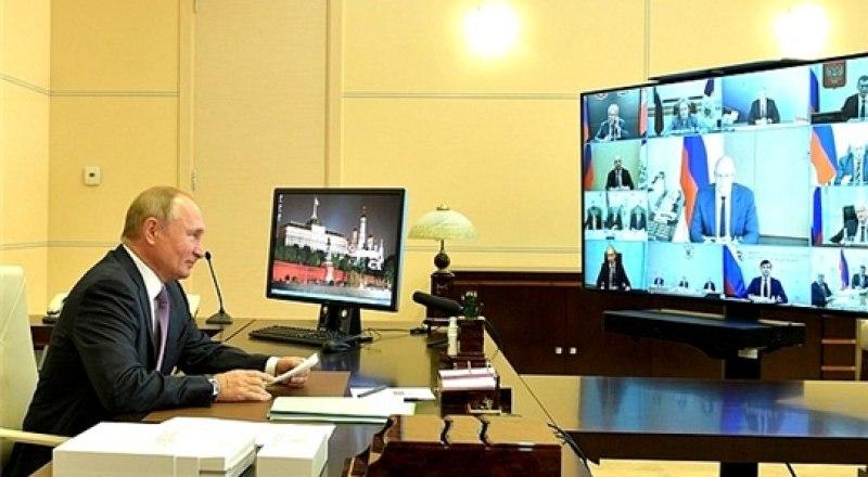 Президент РФ Владимир Путин провёл заседание Совета по развитию физической культуры и спорта.