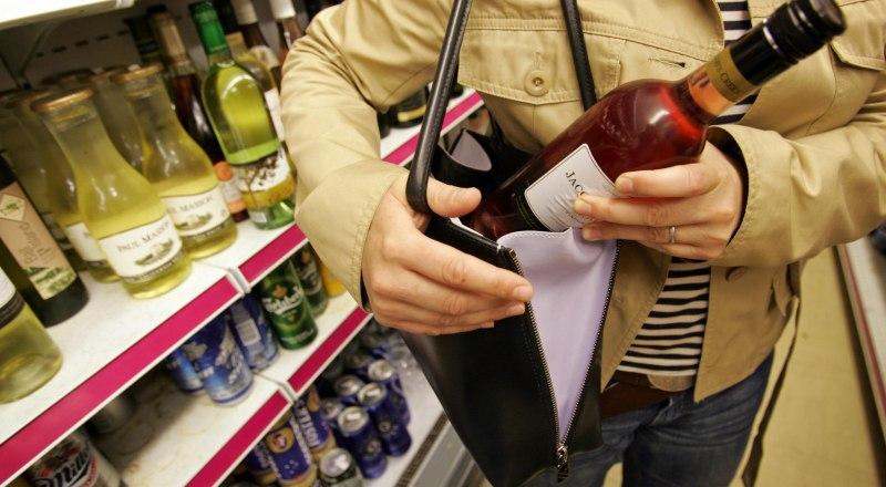 На элитный алкоголь нужно зарабатывать, а не воровать его.