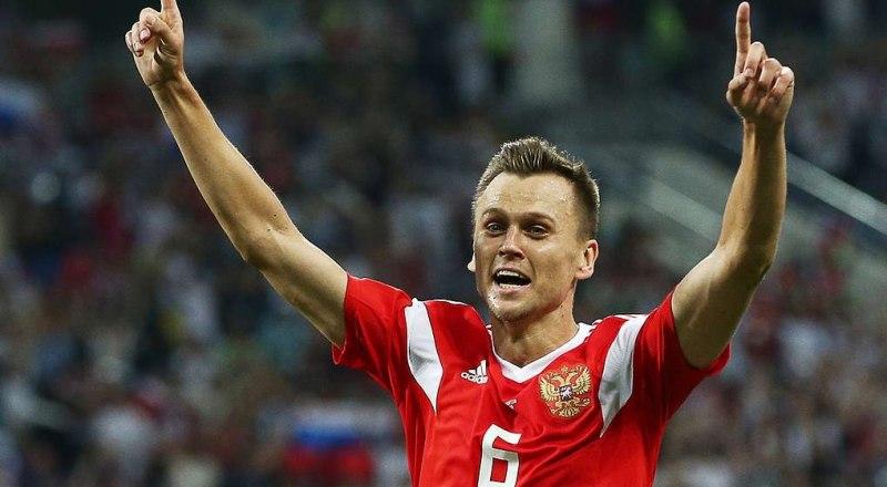 Очередной гол в ворота соперников забил Денис Черышев.
