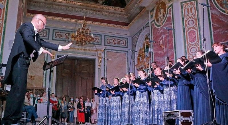 Концерт в храме Александра Невского. Фото Арвидаса Шеметаса.