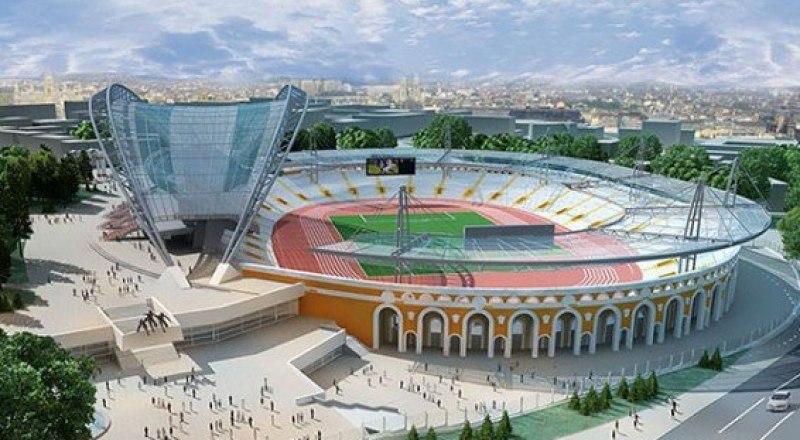 На Олимпийском стадионе «Динамо» в Минске, который читатели видят на снимке, 21 июня 2019 года будет поднят стяг вторых летних Европейских спортивных игр.