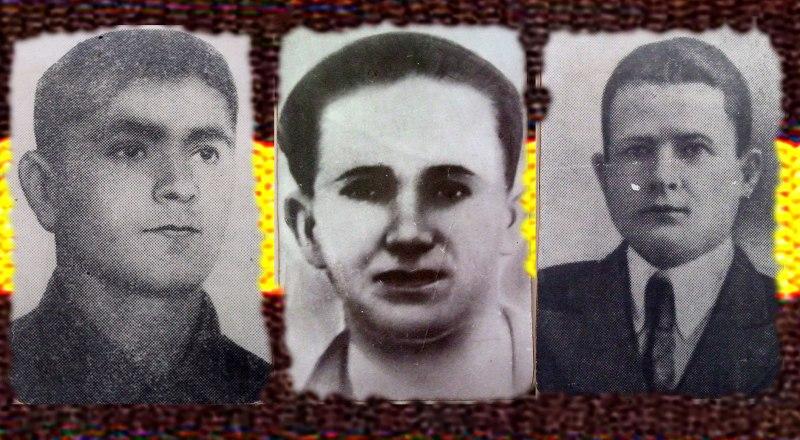 Николай Долетов, Евгений Семняков, Борис Хохлов (слева направо).