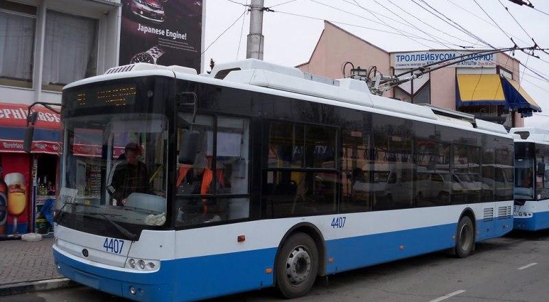 Фото: пресс-служба ГУП РК «Крымтроллейбус»