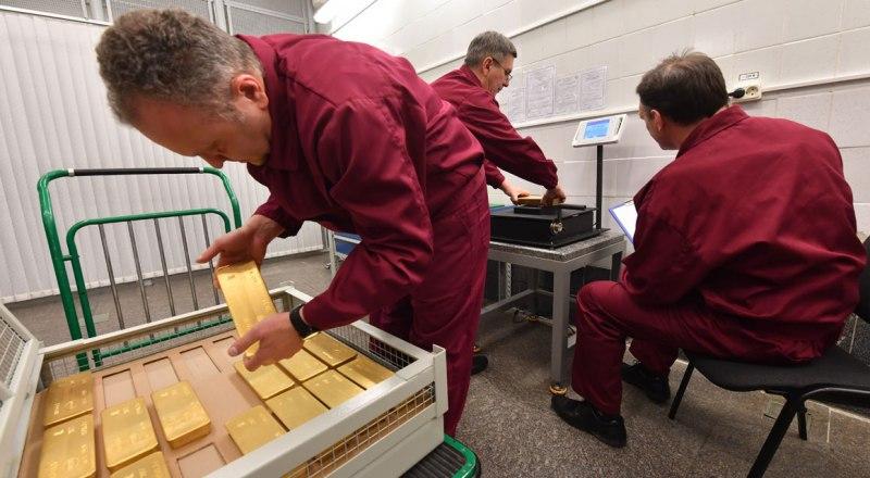 В хранилищах нашей страны - 17% общемирового объёма золотых запасов.