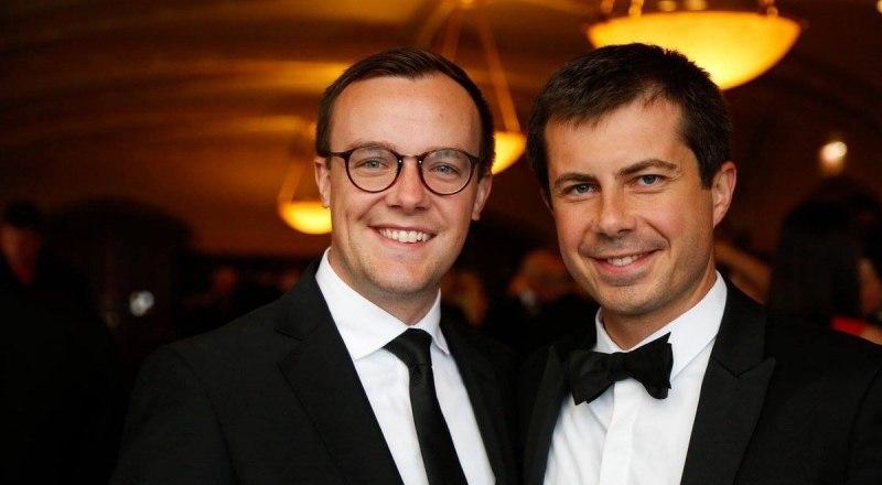 Пит Буттиджич с мужем. Не спрашивайте, кто из них кто.