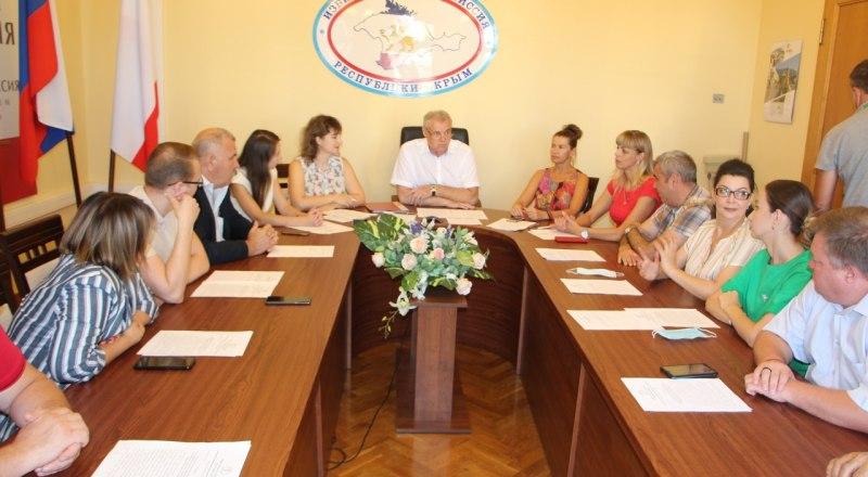 Заседание Избирательной комиссии Республики Крым 14 сентября.