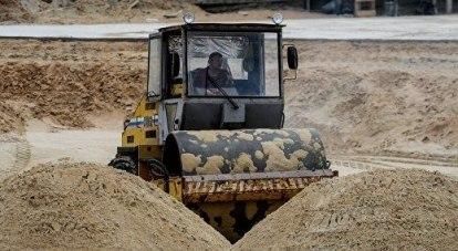 Добыча песка ведётся интенсивно.