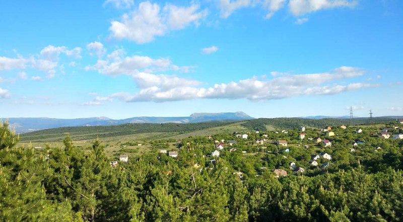 Вид со смотровой над Белоглинкой.