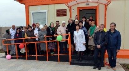 Постепенно фельдшерско-акушерские пункты должны появиться в каждом крымском селе.