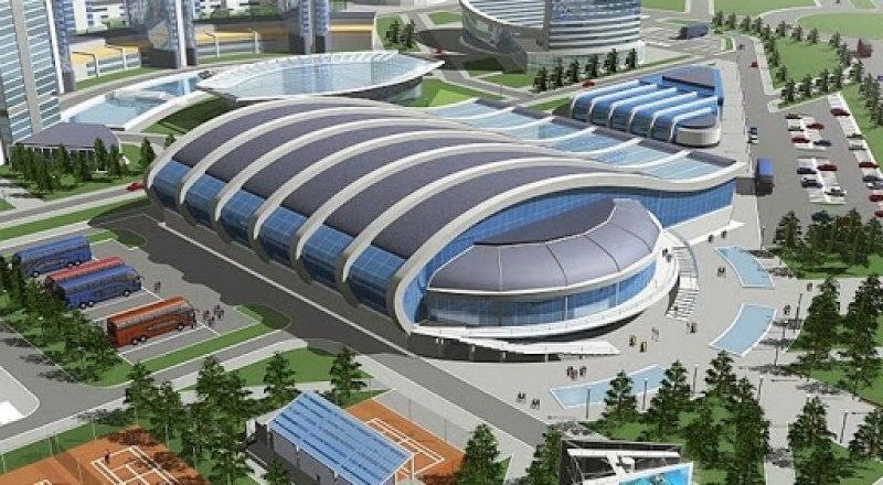Таким должен быть Дворец водных видов спорта в Симферополе, который откроет свои двери 31 декабря 2021 года.