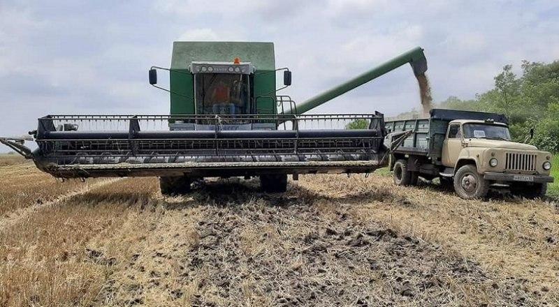 Новые комбайны позволят фермерам быстрее справиться с уборкой хлеба. Фото пресс-службы Минсельхоза РК