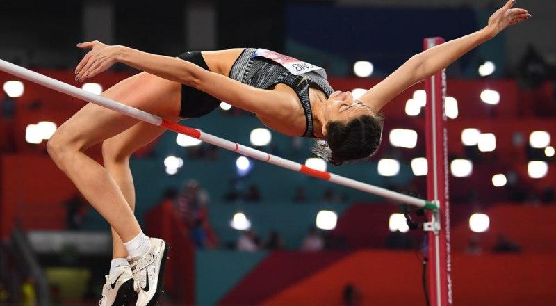 Мария Ласицкене трижды становилась чемпионкой мира по прыжкам в высоту. Её цель - впервые стать олимпийской чемпионкой в Токио-2021.