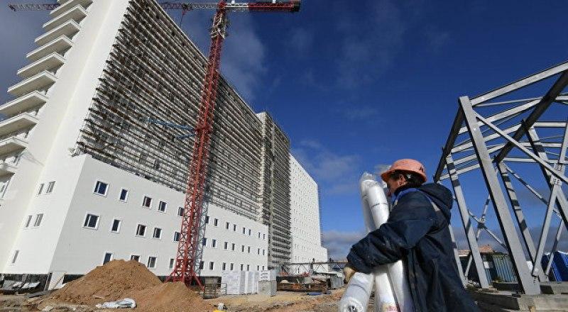Многопрофильный центр в Симферополе почти готов к сдаче.