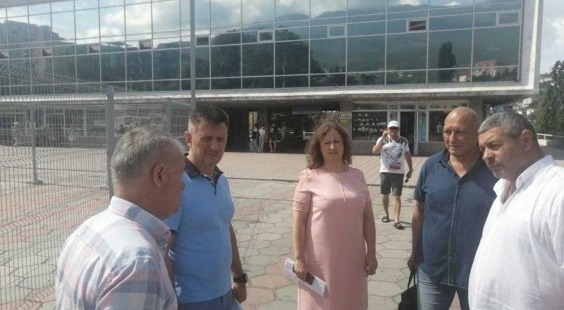 Фото: пресс-служба Министерства транспорта Крыма
