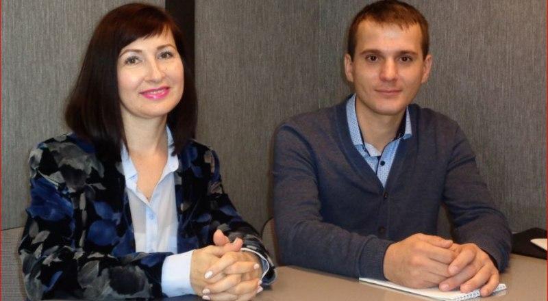 Ирина Равич и Иван Коваленко.