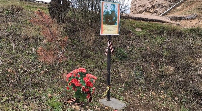 Чахлая сосна и искусственные цветы, как на кладбище, - вот что получил капитан Драпушко от потомков.