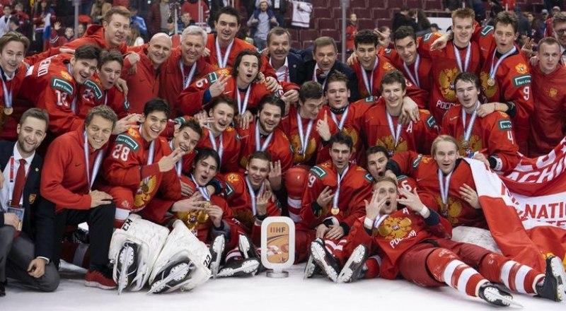 Наши парни из «бронзовой» молодёжной сборной России 2018/19 годов.