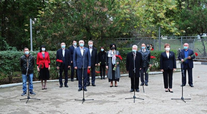 Торжественная церемония в условиях пандемии.